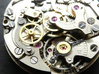 lemania 1275 not working Chronograph Movement Caliber for parts (K177)