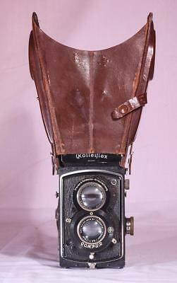 Rolleiflex leather binocular viewing hood