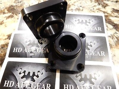 Polaris Scrambler 850 or 1000 front differential cover upgrade (black)