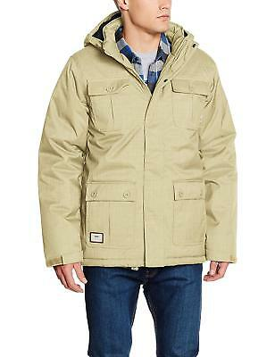 48805533ad3 NEW VANS MENS Mixter II Insulated Full Zip Button Up Hooded Winter ...