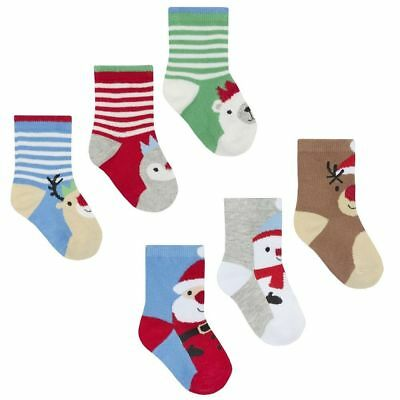 Baby  Christmas socks 0-3-6-9-12-18 months