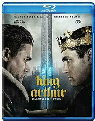 King Arthur Legend of the Sword (Blu-Ray, DVD, Digital) NEW