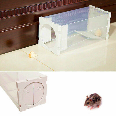 Professional Rodent Box Trap Station - Rat Mice Mouse