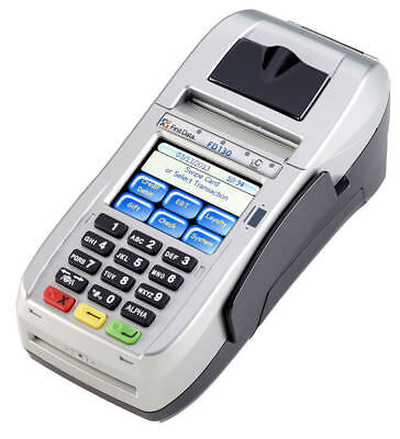 First Data FD130 EMV NFC Dial/IP Credit Card Machine with fd35 pin pad