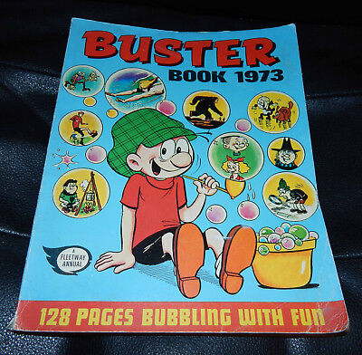 Vintage: Buster Book /annual 1973. A Fleetway Annual.