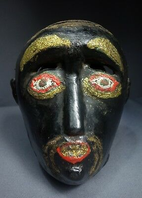 Antique Vintage Monkey Traditional Dance Mask from Rabinal, Guatemala