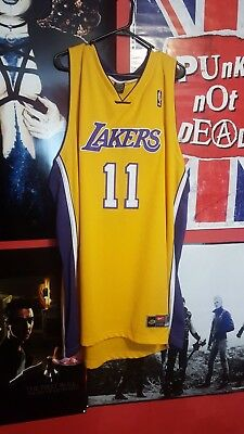 3b6bc624e2e LOS ANGELES LAKERS Karl Malone Nike jersey mens size 60 -  50.00 ...