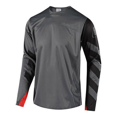 Troy Lee Designs Sprint Elite Escape Bicycle Jersey Black/Gray