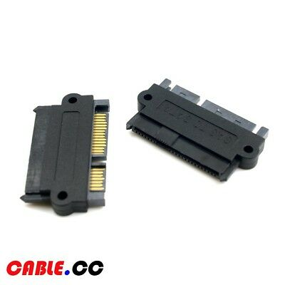 Cablecc SFF-8482 SAS 29Pin to 7Pin 15Pin SATA Hard Disk Drive Raid Adapter Power