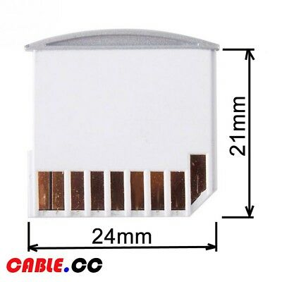 Cablecc Low Profile Micro TF to SD Card Kit Mini Adapter for Storage Macbook Air