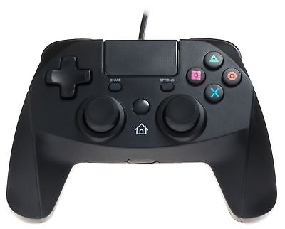 Snakebyte Gamepad for Playstation 4 - Wired PS4 Controller with 3m Cable Black