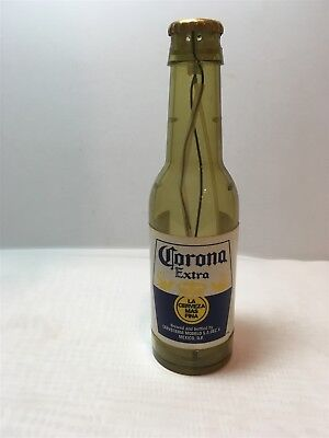 """Cool 12 oz Bottle Style 7 3/4"""" Corona Extra Table Lighter Man Cave Cool"""