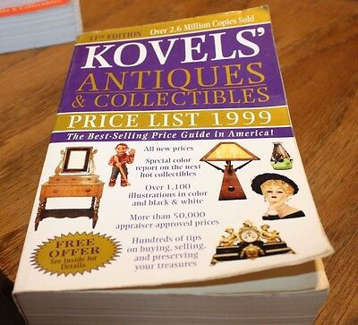 Kovel's Antique & Collectibles Price List 1999