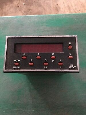 Red Lion Controls GEM52000 Model GEM52 Astro Line Gemini 5200 Rate Indicator