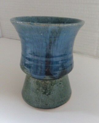 Youghal pottery beaker vase hand made in Ireland
