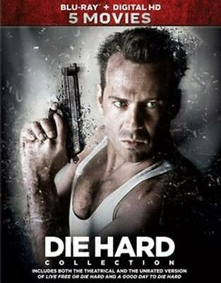 Die Hard 5 Movie Collection - Blu-Ray Region 1 Free Shipping!