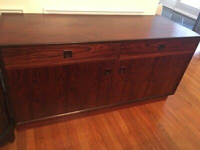 Vintage Danish Mid Century Modern Rosewood Credenza/Cabinet by Brouer