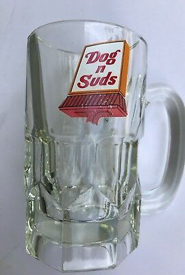 Vintage Dog And Suds Root Beer Mug Heavy Made 6 Inches Tall