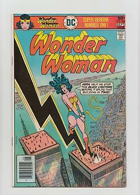 Wonder Woman #225 Twin Towers Cover (DC 1976) VF 8.0 Sharp Copy