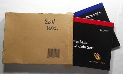 2011 P & D US Mint Uncirculated Coin Sets - 28 Coins