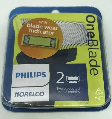 Philips Norelco OneBlade Replacement Blade 2 Count  QP220/80