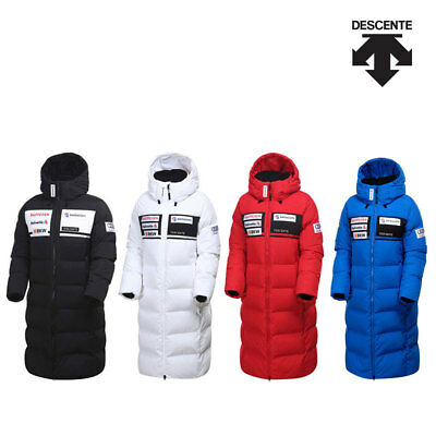Descente Swiss Ski Team Replica Long Down Padded Coat Authentic