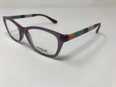 cf1a3e1b79 FRANCIS DRAKE WOMENS Red Purple Half Rimless Eyeglasses Frames 52 17 ...