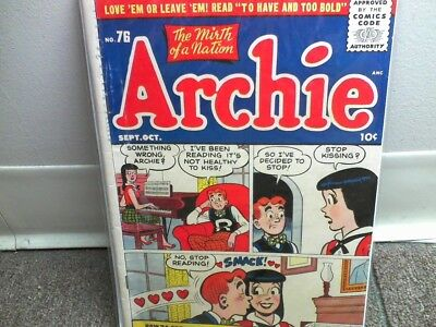 ARCHIE #76 COMIC BOOK 1955 10c VG/ FN golden age