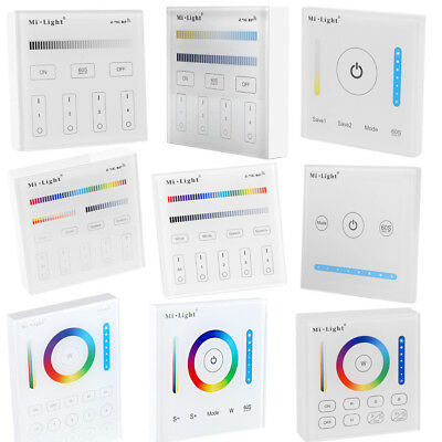 HOT Milight 2.4G WiFi Touch Smart Panel Controller for CCT/RGB/RGBW Strip Lamp