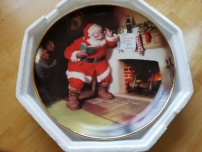Coca Cola The Pause That Refreshes Franklin Mint Collector Plate 1993