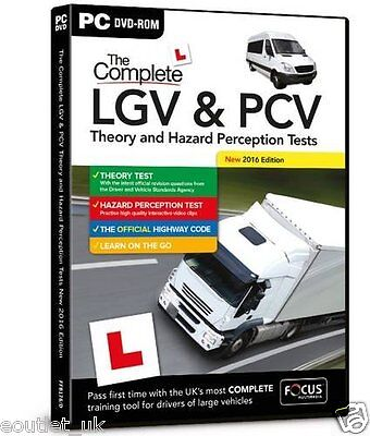 LGV PCV Driving Theory Hazard Perception Tests Preparation Vehicles for PC NEW