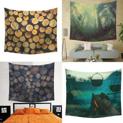 Digital Print Tapestry Wall Hanging Tapestries Forest Yoga Blanket Table Cloth