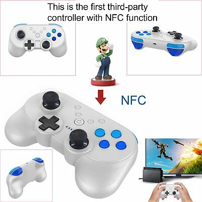 Wireless Gamepad Bluetooth Game Controller for NS Console 15.6 × 6.4 × 12.5cm