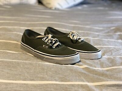 Vans Authentic Olive Green Size 9
