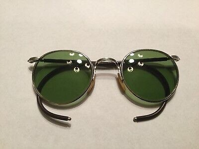 Bausch And Lomb Ful Vue 23 Green Sunglasses Excellent