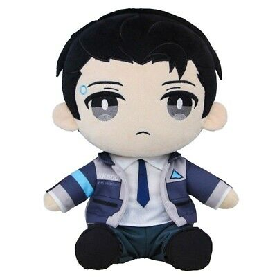 "12"" Detroit Become Human RK800 Connor Plush Toy Stuffed Doll Cosplay Prop Gift"