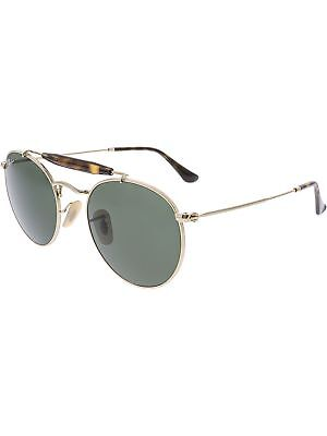 727c353717 RAY-BAN POLARIZED RB3747-001-50 Gold Round Sunglasses -  104.99 ...