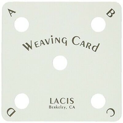 Lacis Card Weaving Cards, 25-pack - Cards 25pkg 25pack