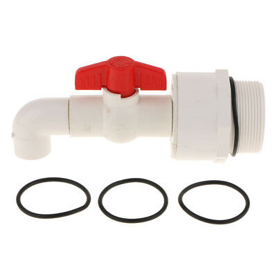 Drum Faucet with Sealing Gasket 90 Degree Feeder Outlet