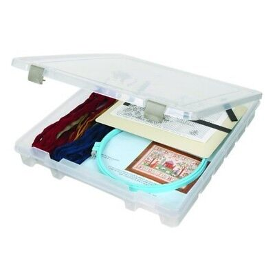 Artbin Super Satchel Slim Single Compartment Box- Plastic Art And Craft Supply
