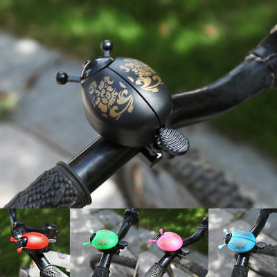 5 Colours Aluminum Bicycle Bike Lovely Ladybird Bell Horns Accessories