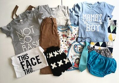 Boys Clothing outfits tops trousers baby toddler child bundle wholesale joblot