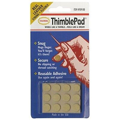 Colorbok Sm100 Thimble Pad, 12 Per Package - Colonial Needle Thimblepads12pkg