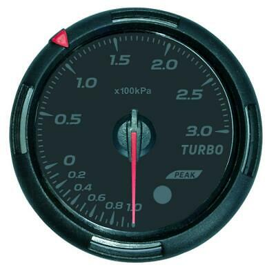 Car Motor Turbo Boost Press Pressure Gauge Meter 60mm 2.4 inch