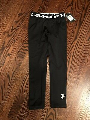 boys under armour Spandex Coldgear Basic  Size 6 New With Tags