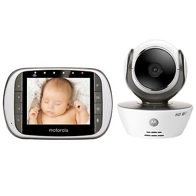 Motorola MBP853CONNECT Dual Mode Baby Monitor with 3.5-Inch LCD Parent Monito...