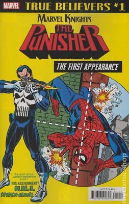 True Believers Punisher First Appearance (Marvel) #1 2018 VF Stock Image