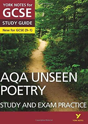 AQA English Literature Unseen Poetry Study and Exam Practice: York Notes for...