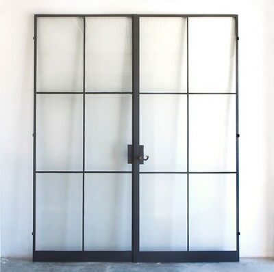 Industrial Metal & Glass Screen Crittall - Hope Inspired Panel. Made In London