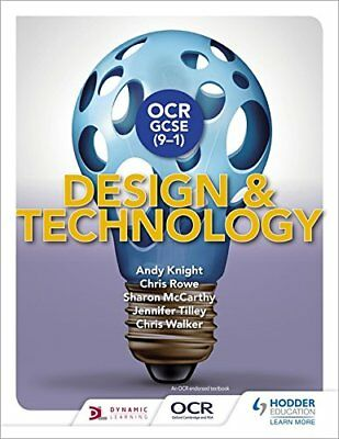OCR GCSE (9-1) Design and Technology by Sharon McCarthy, Andy Knight,...